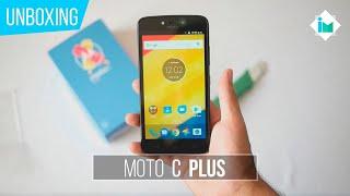 Motorola Moto C Plus - Unboxing