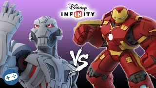 getlinkyoutube.com-Ultron VS Hulkbuster Marvel Battlegrounds Disney Infinity 3.0