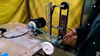 getlinkyoutube.com-Homemade 2x48 Universal Grinder with Buffing Wheel!