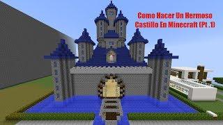 getlinkyoutube.com-Como Hacer Un Hermoso Castillo En Minecraft (Pt .1)