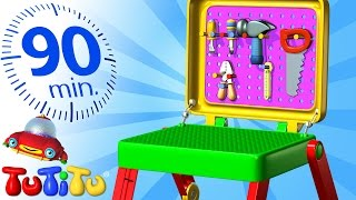 getlinkyoutube.com-TuTiTu Specials | Toolkit | And Other Popular Toys for Children | 90 Minutes!