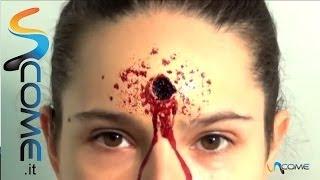 getlinkyoutube.com-Come fare un ferita pallottola con il trucco