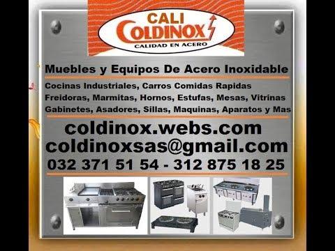 COLDINOX= FREIDORA CONTINUA, ACERO INOXIDABLE, INMUEBLES, EQUIPOS, MAQUINAS, CALI, COLOMBIA