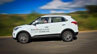 getlinkyoutube.com-Hyundai Creta: Лосиный тест. Торможение. Крены