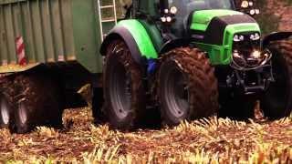 getlinkyoutube.com-Krone BIG X 700 vs Stromleitung beim Maishäckseln für BGA