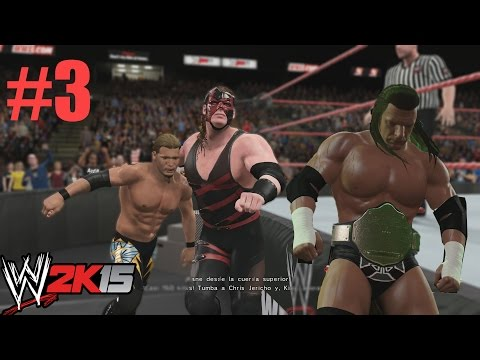 WWE 2K15 Gameplay PS4 - Showcase - Lucha en equipos - Tag Team