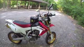 getlinkyoutube.com-Update (part 2) CRF250L Commuter Bike (Supermoto) - Walkaround + Mods