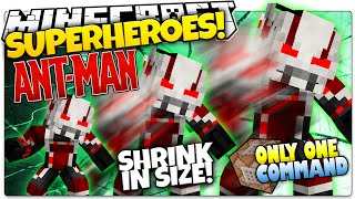 getlinkyoutube.com-Minecraft | How To Be A Superhero! | ANT MAN! | Only One Command (One Command Creation)