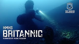 getlinkyoutube.com-Diving the BRITANNIC Wreck 2016 - 100th Sinking Anniversary - GUE Project