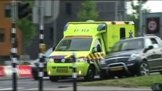 getlinkyoutube.com-A1 Ambulance Compilatie Rotterdam Deel 5