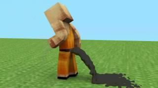 getlinkyoutube.com-Surprise Poop (Minecraft Animation)