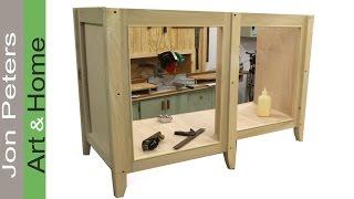 getlinkyoutube.com-How to Build a Bathroom Vanity Cabinet Part 1