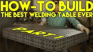 getlinkyoutube.com-How to Build a CertiFlat Welding Table: Step by Step - Part 1 (FabBlock) | MIG Monday