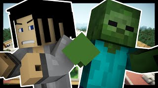 Minecraft Dreams - THE WALKING DEAD! [Part 4 - Finale] | Custom Roleplay w/ Samgladiator