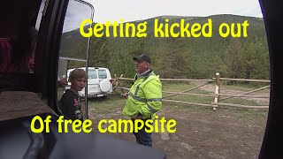 getlinkyoutube.com-Getting Kicked Out of Free Campsite