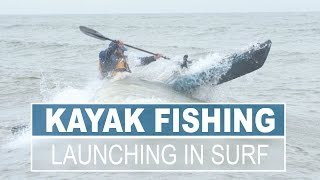 getlinkyoutube.com-How to Launch a Kayak in a surf zone