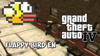 GTA IV MOD - Flappy Bird En GTA IV !!