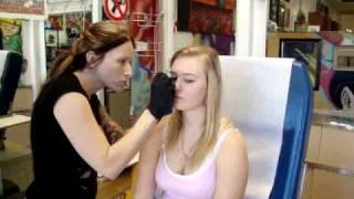 getlinkyoutube.com-Livy Getting Her Nose Pierced :)