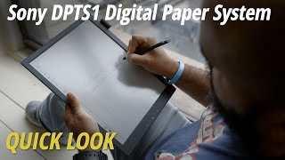 Quick Look: Sony DPTS1 Digital Paper System