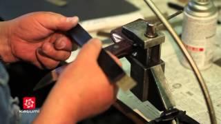 getlinkyoutube.com-Судзуки Хироси и Судзуки Ёсиро: изготовление авторского ножа