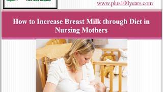getlinkyoutube.com-Top 5 diet plans to increase Breast milk for breastfeeding mother?