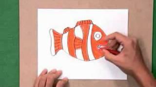 getlinkyoutube.com-สอนศิลป์ตอนที่15 เกมตกปลา