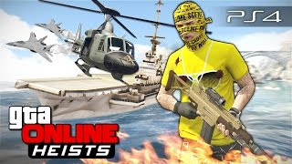 getlinkyoutube.com-GTA 5 Online Heists - Штурм авианосца! #114