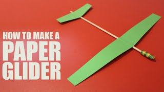 getlinkyoutube.com-How to make a paper glider that flies - DIY Glider Plane