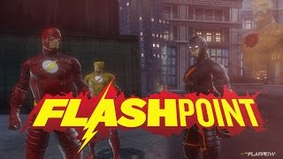 getlinkyoutube.com-[DCUO] Team Flarrow - The Flash 3x01: Kid Flash,Flash vs The Rival,Reverse Flash,Eobard fragment