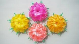 getlinkyoutube.com-พับเหรียญโปรยทาน ดอกดาวเรือง (Marigold)
