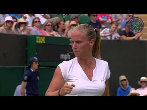 2015 Day 3 Highlights, Maria Sharapova vs Richel Hogenkamp