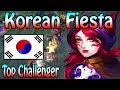 70 Kills in 25 Minutes - KOREAN FIESTA - Challenger Xayah
