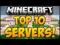 TOP 10 MINECRAFT SERVERS FOR 1.8! (Minecraft Servers 1.8) (Minecraft Multiplayer Server) - 2014 (HD)
