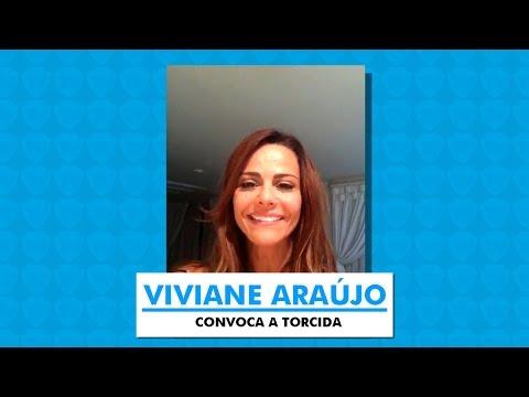 Viviane Araújo convoca a torcida! - 06/03/2015