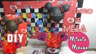 getlinkyoutube.com-Centro de Mesa Mickey o Minnie/Centrepiece