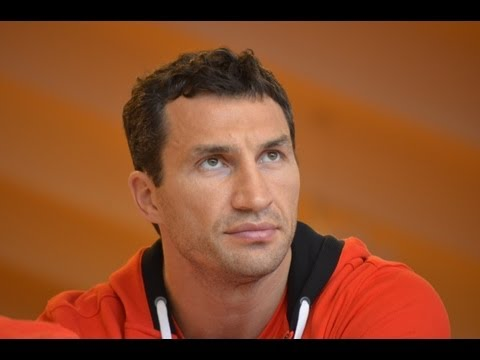Wladimir Klitschko v Francesco Pianeta Press Conference, Austria, 17th April 2013