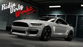 getlinkyoutube.com-Forza 6   1000+HP 2016 Shelby Mustang GT350   1/4 Mile Build - Tune - 8 Second Track Passes