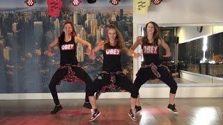 getlinkyoutube.com-Too original - Major Lazer - Fitness Dance Choreography