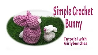 Crochet Easter Bunny Decoration Tutorial | Girlybunches
