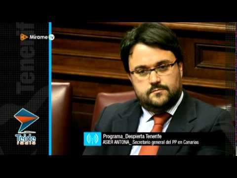 Asier Antona, secreario general del PP canario: