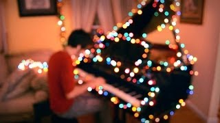 getlinkyoutube.com-Coldplay - Christmas Lights // One Man Band Cover
