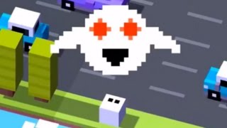 getlinkyoutube.com-Crossy Road: Unlock Secret Ghost (Forget-Me-Not)