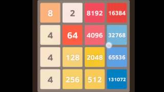 getlinkyoutube.com-The Highest Score and Tile in 2048
