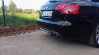 getlinkyoutube.com-Audi A4 B7 2.0TDI S4 Exhaust Sound MOD