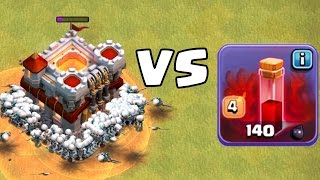 getlinkyoutube.com-12 SKELETTZAUBER vs. RATHAUS! || CLASH OF CLANS || Let's Play CoC [Android iOS PC]