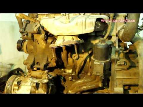 Замена приводного ремня, снятия гура, генератора и компрессора кондиционерана Пежо Ситроен