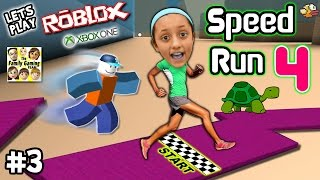 getlinkyoutube.com-Let's Play ROBLOX #3:  SPEED RUN 4 REQUEST w/ Lexi! (FGTEEV Xbox One Gameplay / Slow Turtle Skit)