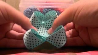 getlinkyoutube.com-How to make an easy hair bow