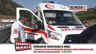 Bayram Tatili Yolunda Kaza: 6 Yaralı