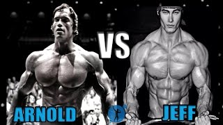 getlinkyoutube.com-Arnold Schwarzenegger vs Jeff Seid - Aesthetics Forever